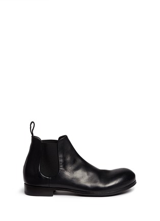 Main View - Click To Enlarge - Marsèll - 'Zucca' leather Chelsea boots