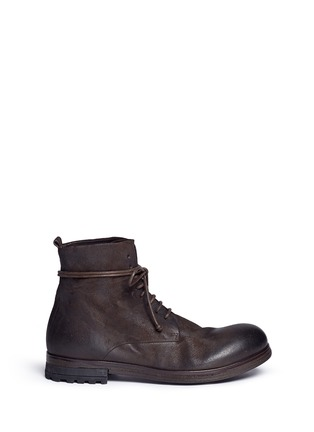 Main View - Click To Enlarge - Marsèll - 'Zuccapro' nubuck leather combat boots