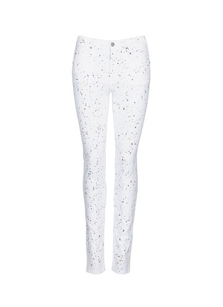 Main View - Click To Enlarge - ISABEL MARANT ÉTOILE - 'Ennett' scatter paint print jeans