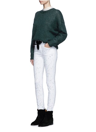 Figure View - Click To Enlarge - Isabel Marant Étoile - 'Ennett' scatter paint print jeans