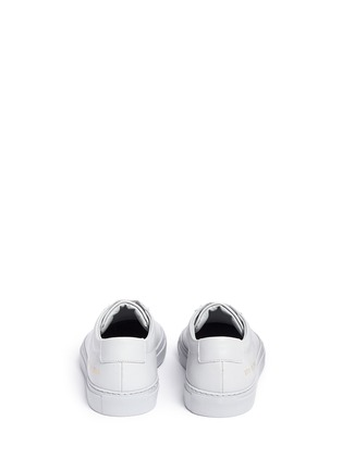 Back View - Click To Enlarge - Common Projects - 'Original Achilles' leather sneakers