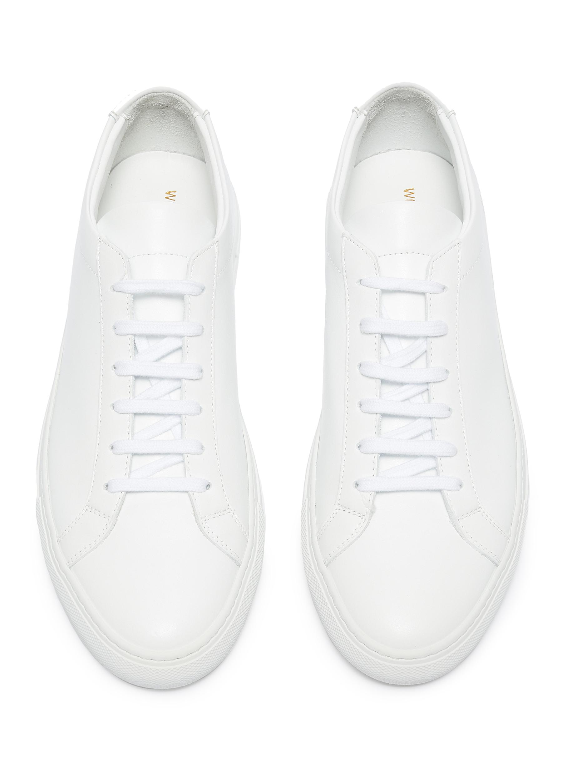 Common Projects Original Achilles Sneakers - Off White Size 11