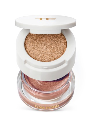 Main View - Click To Enlarge - Tom Ford Beauty - Cream And Powder Eye Color - Naked Bronze