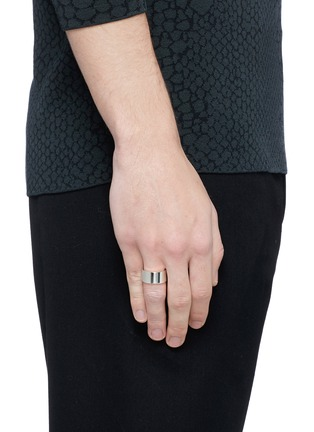 Figure View - Click To Enlarge - Le Gramme - 'Le 15 Grammes' polished sterling silver ring