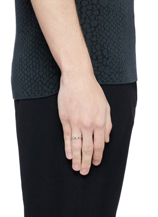 Figure View - Click To Enlarge - LE GRAMME - 'Le 3 Grammes' polished sterling silver ring