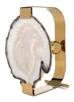 Main View - Click To Enlarge - Satie - Agate stone lamp