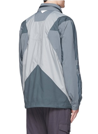 Back View - Click To Enlarge - Adidas By White Mountaineering - Patchwork shell jacket
