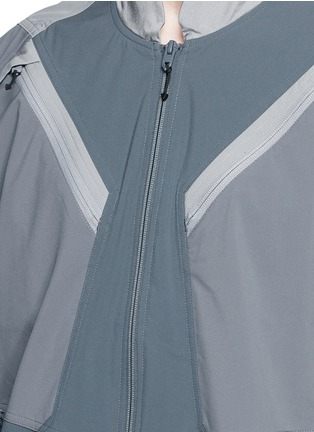 Detail View - Click To Enlarge - adidas By White Mountaineering - Patchwork track jacket