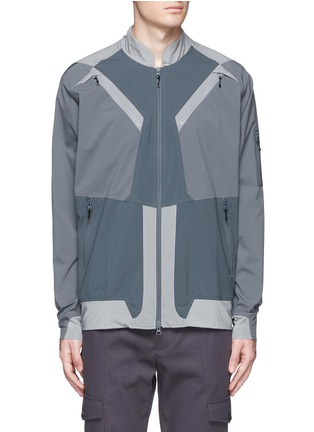 Main View - Click To Enlarge - adidas By White Mountaineering - Patchwork track jacket