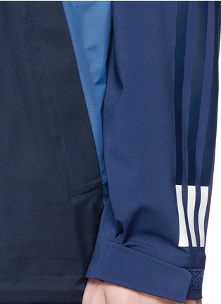 Detail View - Click To Enlarge - adidas by White Mountaineering - Patchwork bench jacket