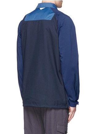 Back View - Click To Enlarge - adidas by White Mountaineering - Patchwork bench jacket
