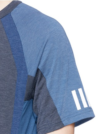 Detail View - Click To Enlarge - Adidas By White Mountaineering - Patchwork T-shirt
