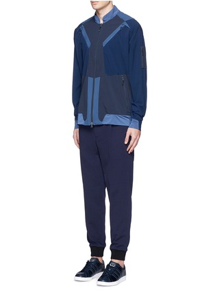 Figure View - Click To Enlarge - Adidas By White Mountaineering - Patchwork track jacket
