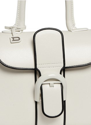 Detail View - Click To Enlarge - Delvaux - 'Brilliant Mini Illusion' piped leather bag
