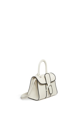 Figure View - Click To Enlarge - Delvaux - 'Brilliant Mini Illusion' piped leather bag