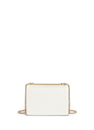 Back View - Click To Enlarge - Dolce & Gabbana - 'Rosalia' leather crossbody bag