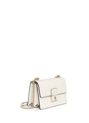 Figure View - Click To Enlarge - Dolce & Gabbana - 'Rosalia' leather crossbody bag