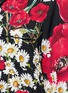 Detail View - Click To Enlarge - Dolce & Gabbana - Floral print silk charmeuse pyjama shirt