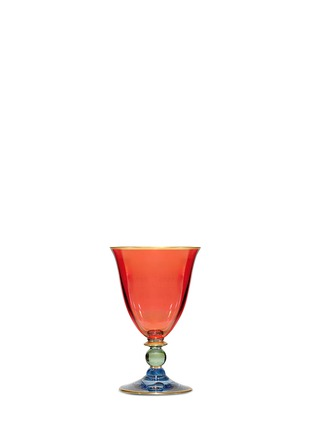 Main View - Click To Enlarge - Griffe - Harlequin wine goblet