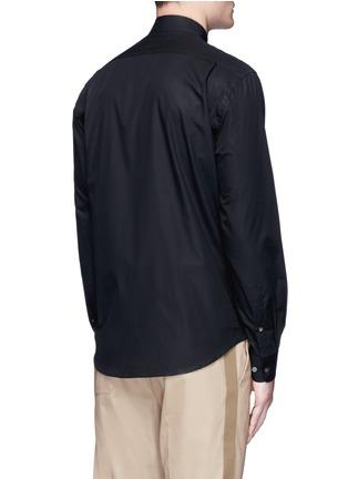 Back View - Click To Enlarge - Acne Studios - 'Jeffrey' cotton poplin shirt