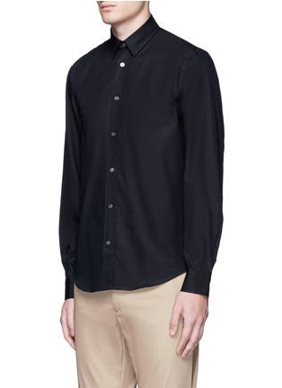 Front View - Click To Enlarge - Acne Studios - 'Jeffrey' cotton poplin shirt