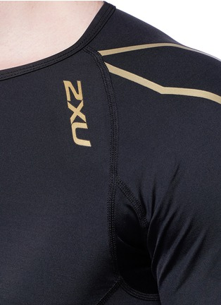 Detail View - Click To Enlarge - 2Xu - 'Elite Compression' performance short sleeve top