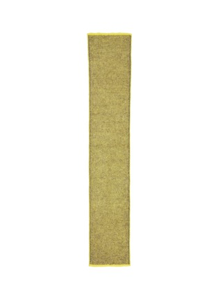Main View - Click To Enlarge - Acne Studios - 'Via 2 Face' contrast colour long knit scarf