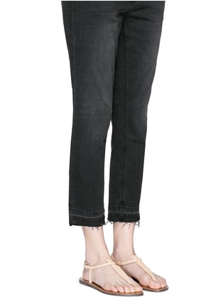 Figure View - Click To Enlarge - SAM EDELMAN - 'Gigi' leather T-strap sandals