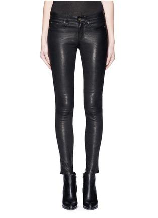 Main View - Click To Enlarge - RAG & BONE/JEAN - 'Skinny' leather pants