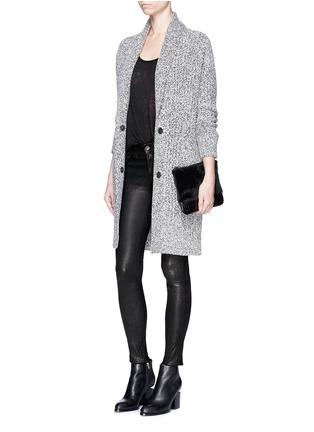 Figure View - Click To Enlarge - RAG & BONE/JEAN - 'Skinny' leather pants