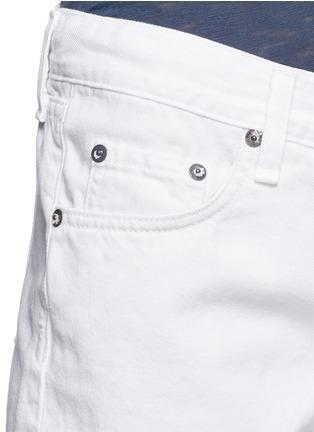 Detail View - Click To Enlarge - rag & bone/JEAN - Cutoff cotton-tencel denim shorts