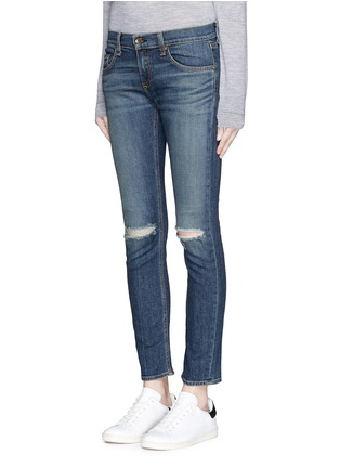 Front View - Click To Enlarge - rag & bone/JEAN - 'Tomboy' slim fit jeans