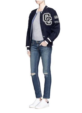Figure View - Click To Enlarge - rag & bone/JEAN - 'Tomboy' slim fit jeans