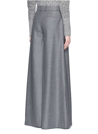 Back View - Click To Enlarge - J.CREW - Collection ultra-wide-leg pant in Italian wool