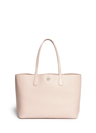 Main View - Click To Enlarge - Tory Burch - 'Perry' grainy leather tote