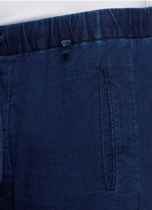 Detail View - Click To Enlarge - COVERT - Garment dye cotton chino jogging pants