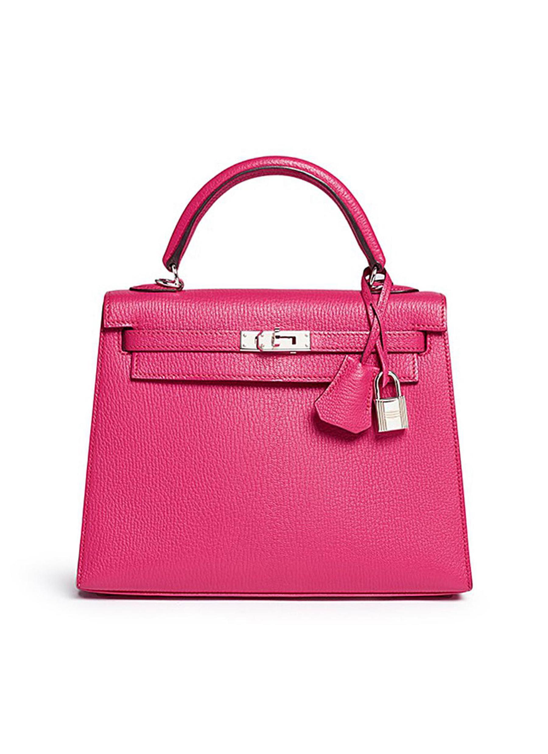 Kelly 25cm Chevre leather bag - VINTAGE HERMÈS - Modalova