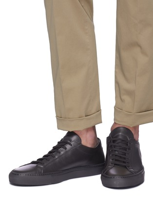 Figure View - Click To Enlarge - COMMON PROJECTS - 'Original Achilles' leather sneakers