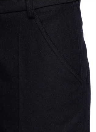 Detail View - Click To Enlarge - Isabel Marant Étoile - Cotton twill pants