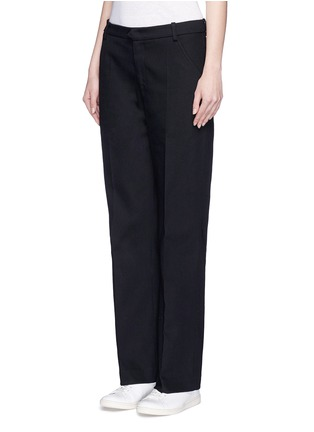 Front View - Click To Enlarge - Isabel Marant Étoile - Cotton twill pants