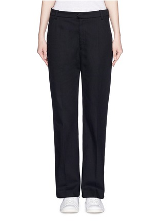 Main View - Click To Enlarge - Isabel Marant Étoile - Cotton twill pants