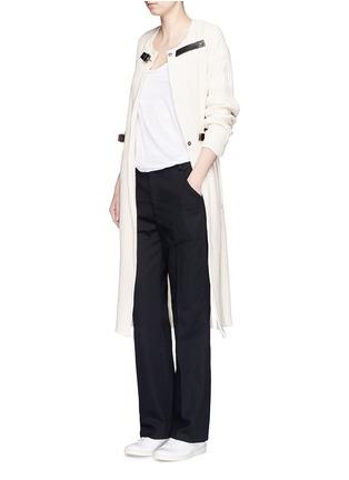 Figure View - Click To Enlarge - Isabel Marant Étoile - Cotton twill pants