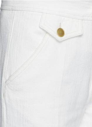 Detail View - Click To Enlarge - Isabel Marant Étoile - Cotton denim jeans