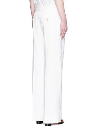 Back View - Click To Enlarge - Isabel Marant Étoile - Cotton denim jeans