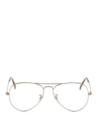 Main View - Click To Enlarge - Ray-Ban - Wire rim aviator optical glasses