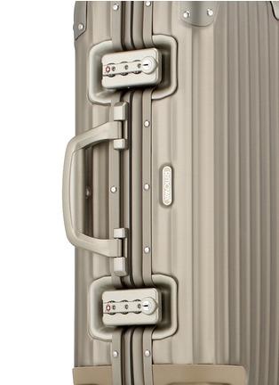 Detail View - Click To Enlarge - RIMOWA - Topas Titanium Cabin Multiwheel® IATA (Titanium, 32-litre)