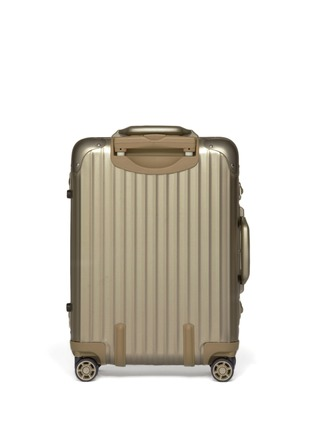 Back View - Click To Enlarge - RIMOWA - Topas Titanium Cabin Multiwheel® IATA (Titanium, 32-litre)