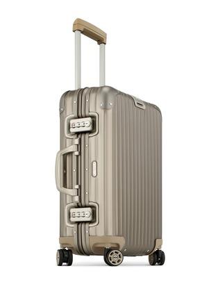 - RIMOWA - Topas Titanium Cabin Multiwheel® IATA (Titanium, 32-litre)