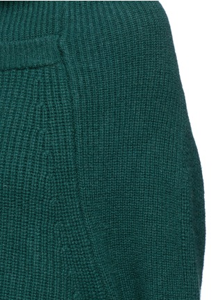 Detail View - Click To Enlarge - TOGA ARCHIVES - Merino wool turtleneck sweater