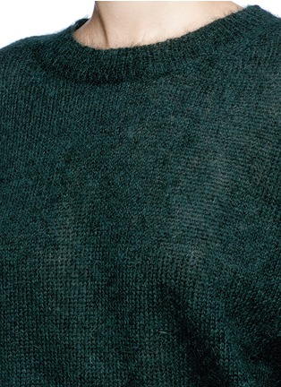 Detail View - Click To Enlarge - Isabel Marant Étoile - 'Clifton' mohair blend sweater